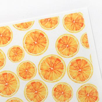무늬펠트지 오렌지[8008]