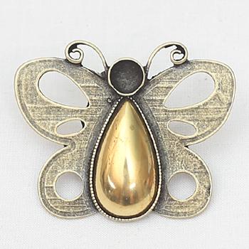 자수용 나비메달 [1077]