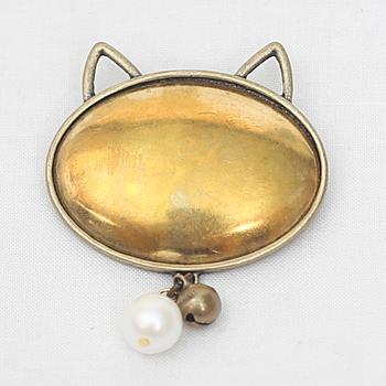 자수용 고양이 브로치 [1079]
